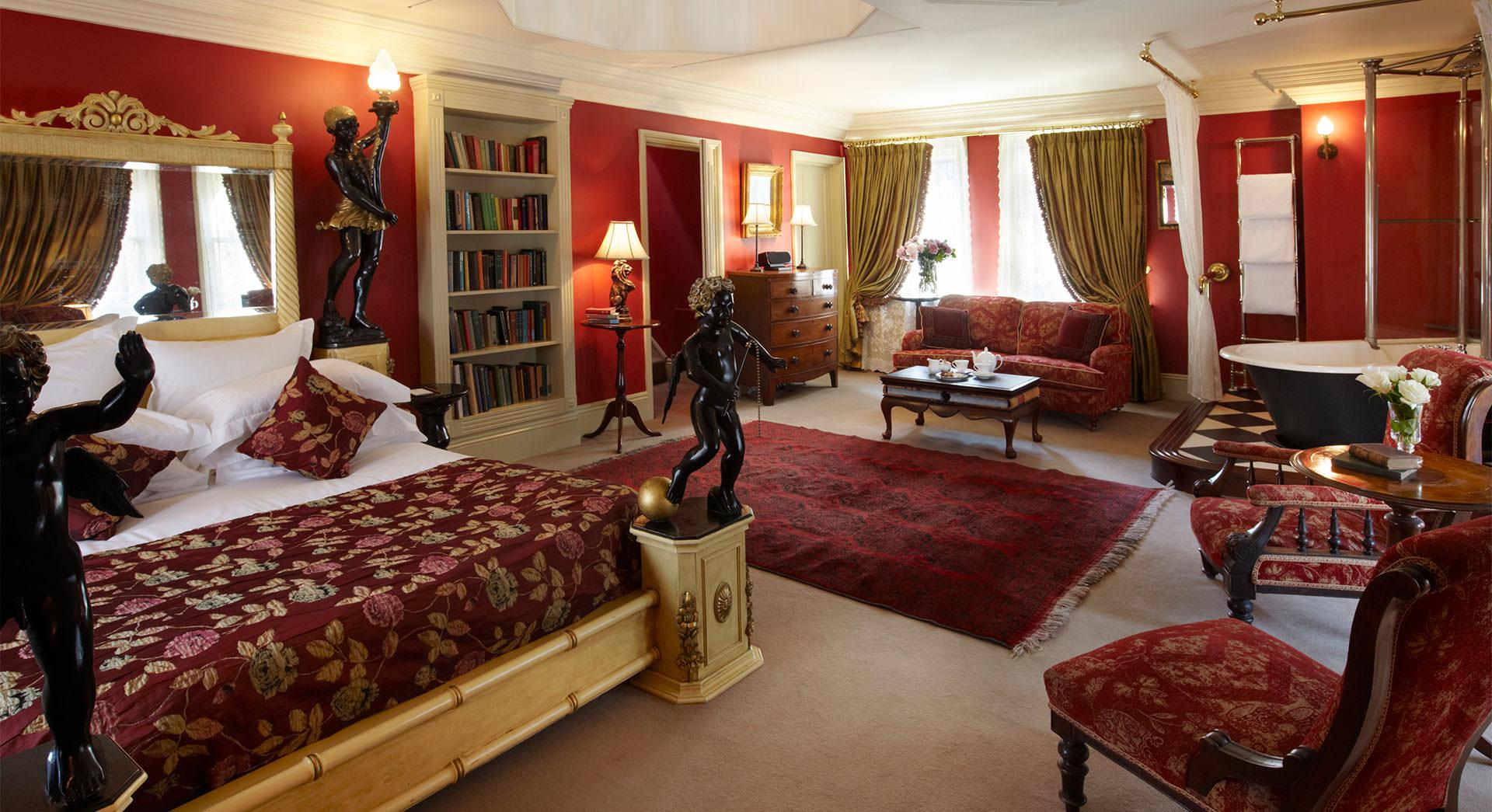 Rook's Nest bedroom