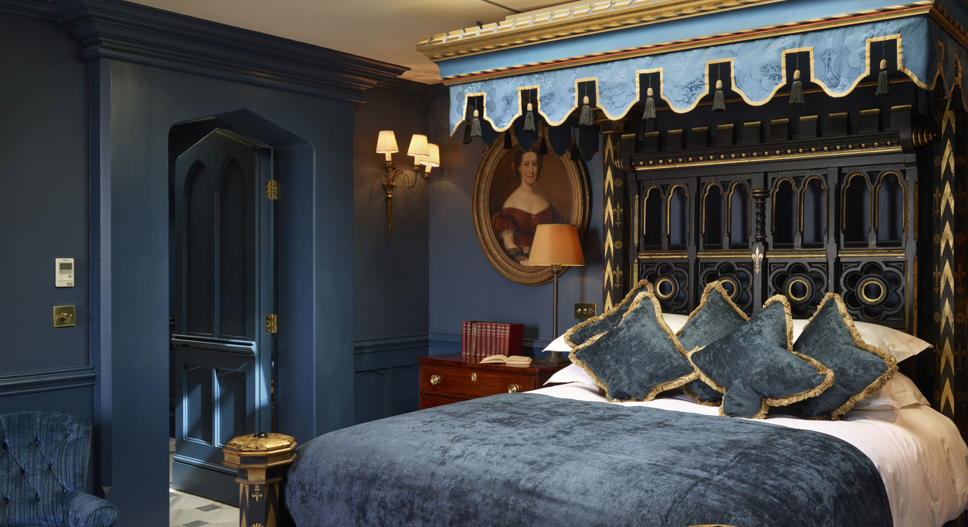 Suite earl of bolingbroke bed